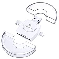 VIKING V4 USB 3.0 4 v 1 biela - Čítačka kariet