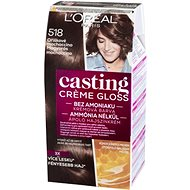 ĽORÉAL CASTING Creme Gloss 518 Orieškové mochaccino - Farba na vlasy