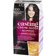 L'ORÉAL CASTING Creme Gloss 200 ebenová čierna - Farba na vlasy
