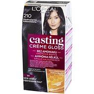 L'ORÉAL CASTING Creme Gloss 210 Modročierna - Farba na vlasy