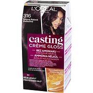 L'ORÉAL CASTING Creme Gloss 316 Tmavá fialová - Farba na vlasy