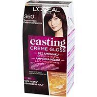 L'ORÉAL CASTING Creme Gloss 360 Tmavá višňa - Farba na vlasy