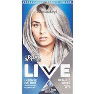 SCHWARZKOPF Live Urban Mettalics U71 Metallic Silver - Farba na vlasy