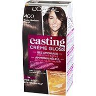 ĽORÉAL CASTING Creme Gloss 400 Tmavý gaštan - Farba na vlasy