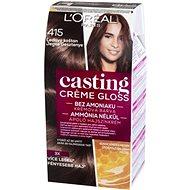 L'ORÉAL CASTING Creme Gloss 415 Ľadový gaštan - Farba na vlasy