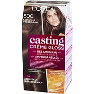 ĽORÉAL CASTING Creme Gloss 500 Gaštanová - Farba na vlasy