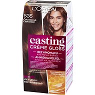 L'ORÉAL CASTING Creme Gloss 535 Čokoládová - Farba na vlasy