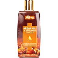 MILVA Arganový olej a Biokeratín 200 ml - Prírodný šampón