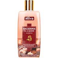 MILVA Makadamiový olej a Chinín 200 ml - Prírodný šampón