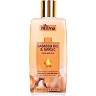 MILVA Cesnak a Babass olej 200 ml - Prírodný šampón