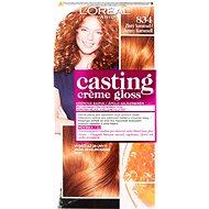 L'ORÉAL Casting Creme Gloss 834 Medená zlatý karamel - Farba na vlasy