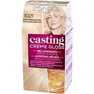L'ORÉAL CASTING Creme Gloss 1021 Blond svetlá perleťová - Farba na vlasy
