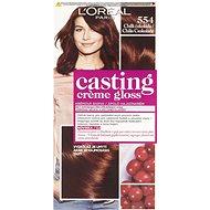 L'ORÉAL CASTING Creme Gloss 554 Čili čokoláda - Farba na vlasy