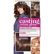 ĽORÉAL CASTING Creme Gloss 503 Mliečna čokoládová - Farba na vlasy