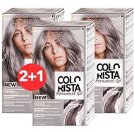 ĽORÉAL PARIS Colorista Permanent Gel Silver 3× 60 ml