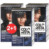 ĽORÉAL PARIS Colorista Permanent Gel Blue Black 3× 60 ml