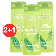 GARNIER Fructis Antidandruff 2 v 1 Shampoo 3× 400 ml
