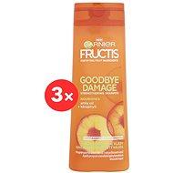 GARNIER Fructis Goodbye Damage Shampoo 3× 400 ml