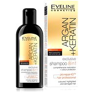 EVELINE Cosmetics Argan + Keratin Shampoo 8 in 1 150 ml - Šampón