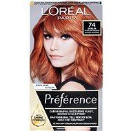 L'ORÉAL PARIS Feri Préférence Mango 74 intenzívna medená - Farba na vlasy