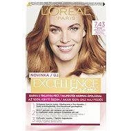 L'ORÉAL PARIS EXCELLENCE Creme 7.43 Blond medená zlatá - Farba na vlasy