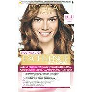L'ORÉAL PARIS EXCELLENCE Creme 6.41 Orieškovo hnedá - Farba na vlasy