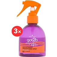 SCHWARZKOPF GOT2B Straight on 4 days 3× 200 ml