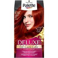 SCHWARZKOPF PALETTE Deluxe 678 Intenzívny červený 50 ml - Farba na vlasy