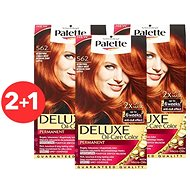 SCHWARZKOPF PALETTE Deluxe 562 Intenzívny žiarivo medený 3× 50 ml - Farba na vlasy