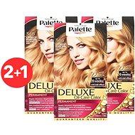 SCHWARZKOPF PALETTE Deluxe 345 Žiarivo zlatá meď 3× 50 ml - Farba na vlasy