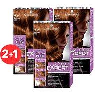 SCHWARZKOPF COLOR EXPERT 7-7 Medená hrdza 3× 50 ml - Farba na vlasy