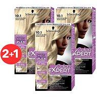 SCHWARZKOPF COLOR EXPERT 10-1 Ľadová blond 3× 50 ml - Farba na vlasy