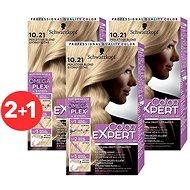 SCHWARZKOPF COLOR EXPERT 10-21 Perleťová blond 3× 50 ml - Farba na vlasy