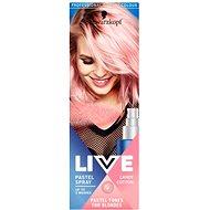 SCHWARZKOPF LIVE Pastel Spray Candy Cotton 125 ml - Farebný sprej na vlasy