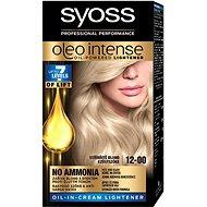 SYOSS Oleo Intense 12-00 Strieborný Blond 50 ml - Farba na vlasy