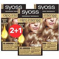 SYOSS Oleo Intense 8-05 Béžově plavý 3× 50 ml - Farba na vlasy