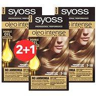 SYOSS Oleo Intense 7-10 Přirozeně plavý 3× 50 ml - Farba na vlasy