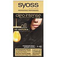 SYOSS Oleo Intense 1-10 Intenzívny čierny 50 ml - Farba na vlasy
