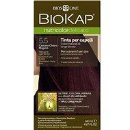 BIOKAP Nutricolor Delicato Mahogany Light Brown Gentle Dye 5.50 140 ml - Prírodná farba na vlasy