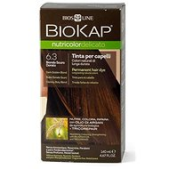 BIOKAP Nutricolor Delicato Dark Golden Blond Gentle Dye 6.30 140 ml - Prírodná farba na vlasy