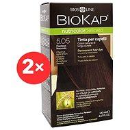BIOKAP Nutricolor Delicato Dark Golden Blond Gentle Dye 6.30 (2× 140 ml)
