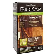 BIOKAP NUTRICOLOR DELICATO - Barva na vlasy - 7.33 Delicato Golden Blond Wheat Gentle Dye - 140 ml - Prírodná farba na vlasy