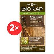 BIOKAP Nutricolor Extra Delicato + Extra Light Golden Blond Gentle Dye 9.30 (2× 140 ml)