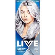 SCHWARZKOPF LIVE Ultra Bright Steel Silver 50 ml - Farba na vlasy
