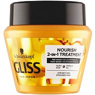 SCHWARZKOPF GLISS KUR Oil Nutritive 300 ml - Maska na vlasy