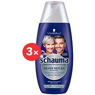 SCHWARZKOPF SCHAUMA Silver Reflex 3× 250ml - Silver Shampoo