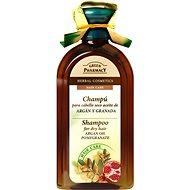 GREEN PHARMACY Šampón pre suché vlasy Arganový olej a Granátové jablko 350 ml - Šampón