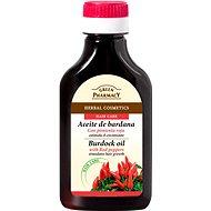 GREEN PHARMACY Lopuchový olej s čili papričkami pre rast vlasov 100 ml - Vlasový olej