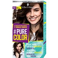 SCHWARZKOPF PURE COLOR 5.0 Hnedá 60 ml - Farba na vlasy