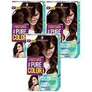 SCHWARZKOPF PURE COLOR 5.5 Zlatá čokoláda 60 3× ml - Farba na vlasy